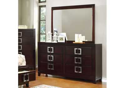 Balfour Brown Dresser,Furniture of America