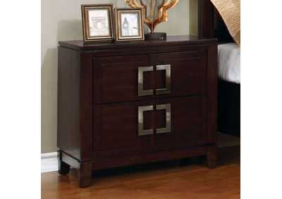 Balfour Brown Nightstand,Furniture of America