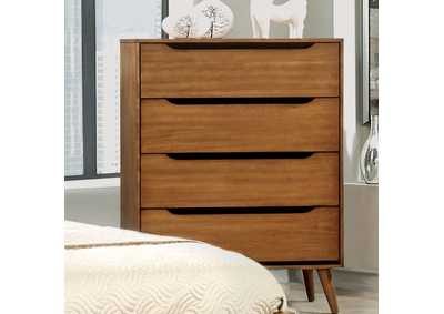 Lennart Oak Chest,Furniture of America