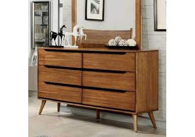 Lennart Oak Dresser,Furniture of America