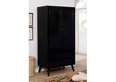 Image for Lennart Black Armoire