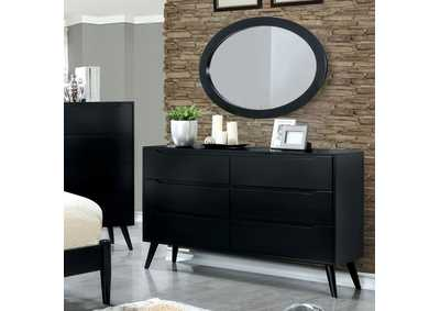 Lennart II Black Dresser,Furniture of America