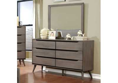 Lennart Gray Dresser,Furniture of America