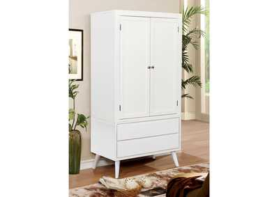 Image for Lennart II White Armoire