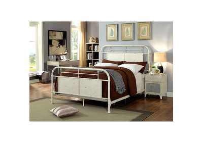 Image for Haldus White Twin Bed
