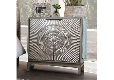Kamalah Antique Gray Night Stand,Furniture of America