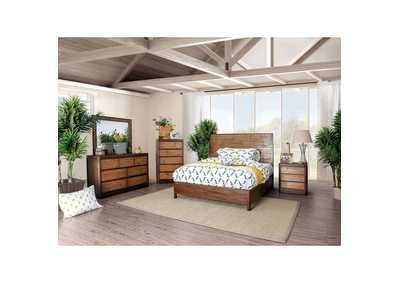 Covilha Antique Brown Queen Bed,Furniture of America