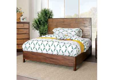 Covilha Antique Brown California King Bed,Furniture of America
