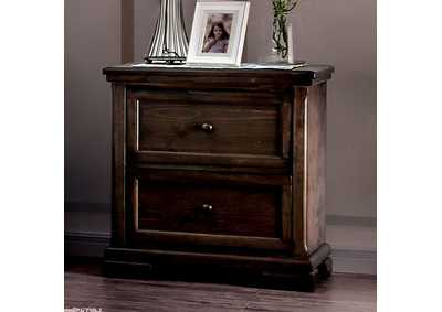 Amadora Walnut Night Stand
