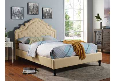 Image for Aubree Beige Queen Bed