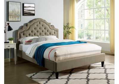 Image for Aubree Gray Eastern King Bed