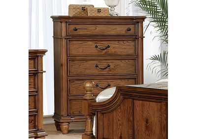 Mantador Dark Oak Chest