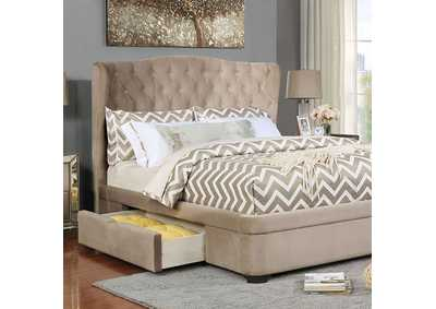 Aoife Upholstered Queen Storage Bed
