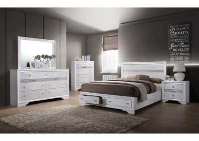 Chrissy White Dresser,Furniture of America