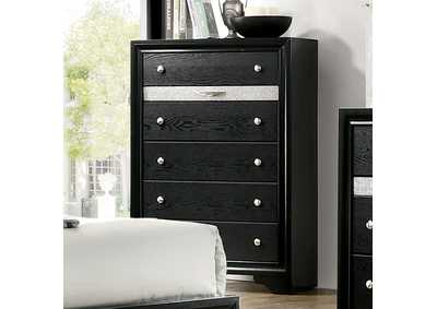 Chrissy Black Chest,Furniture of America