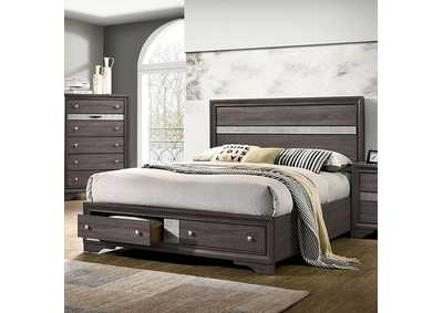 Chrissy Gray Queen Bed