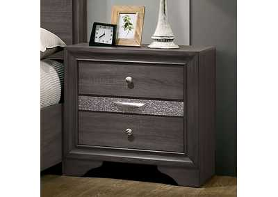 Chrissy Gray Night Stand,Furniture of America