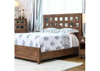 Image for Frontera Rustic Oak Full Platform Bed