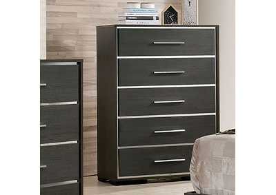 Camryn Warm Gray Chest,Furniture of America