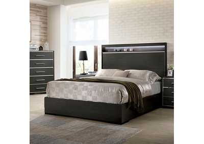 Camryn Warm Gray Queen Bed