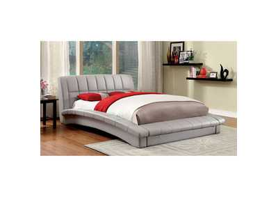Image for Vizela Grey Twin Arched Platform Bed