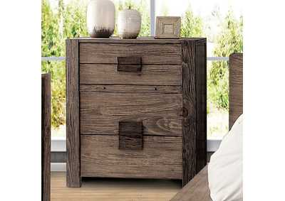 Janeiro Rustic Natural Tone Chest,Furniture of America