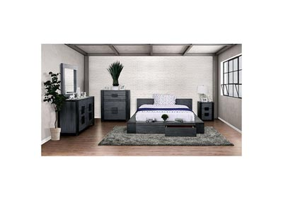 Janeiro Gray Queen Bed,Furniture of America