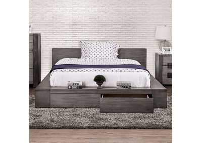 Janeiro Gray California King Bed