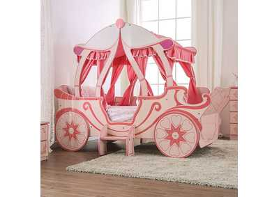 Image for Arianna Pink Twin Bed
