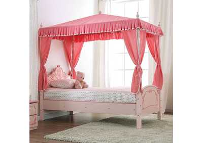 Image for Rheanna Pink Princess Bed