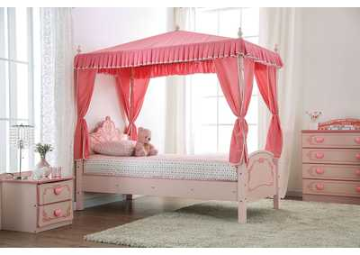 Image for Rheanna Pink Twin Bed