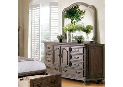 Persephone Rustic Natural Dresser,Furniture of America