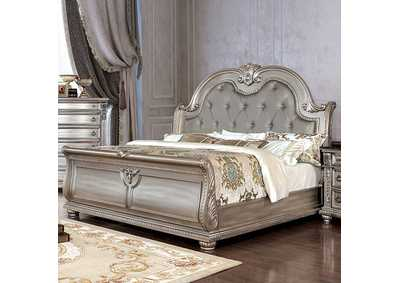 Fromberg Champagne Queen Sleigh Bed
