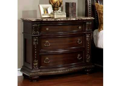 Image for Fromberg Brown Cherry Night Stand