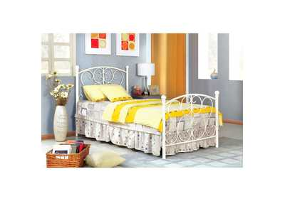 Image for Alice White Twin Platform Bed