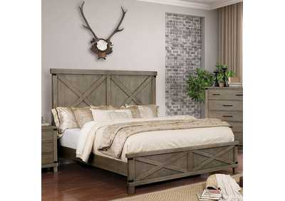 Bianca Gray Eastern King Bed,Furniture of America