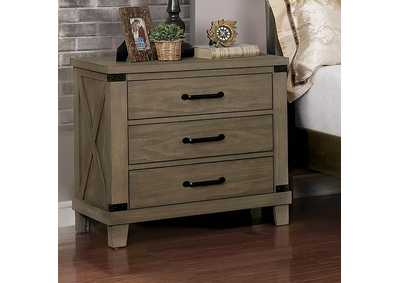 Bianca Gray Night Stand