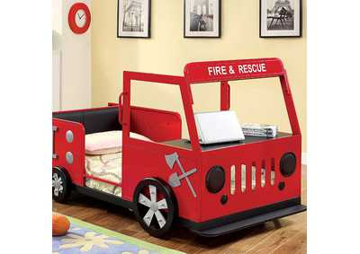Image for Rescuer Twin Metal Platform Bed