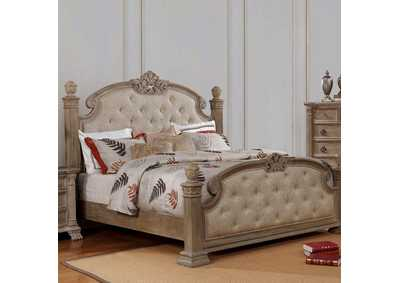 Montgomery Rustic Natural Queen Bed