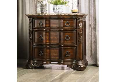 Image for Arcturus Brown Cherry Night Stand