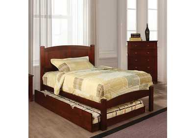 Image for Cara Cherry Twin Platform Bed
