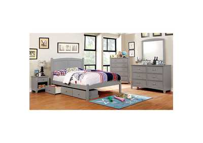 Omnus Gray Underbed Drawers,Furniture of America