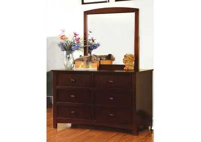 Omnus Dark Walnut Dresser,Furniture of America