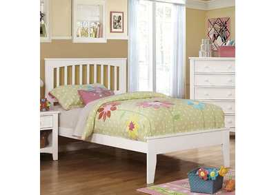 Image for Pine Brook White Twin Platform Bed