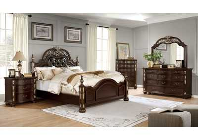 Image for Theodor Cherry California King Bed
