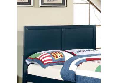 Prismo Blue Queen Headboard