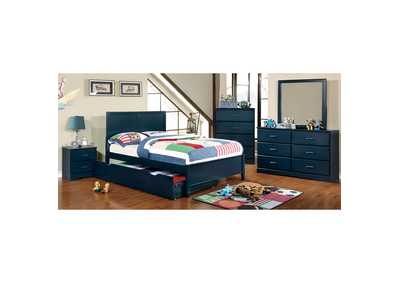 Prismo Blue Dresser,Furniture of America