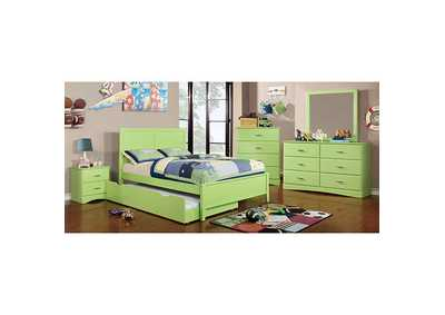 Prismo Green Nightstand,Furniture of America