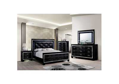 Bellanova Black Queen Bed