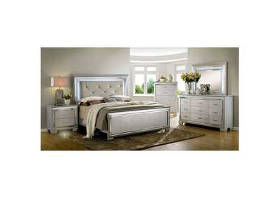Image for Bellanova Silver Upholstered/Panel Queen Bed